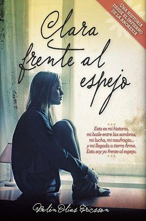 """Portada libro """"Clara frente al espejo"""""""