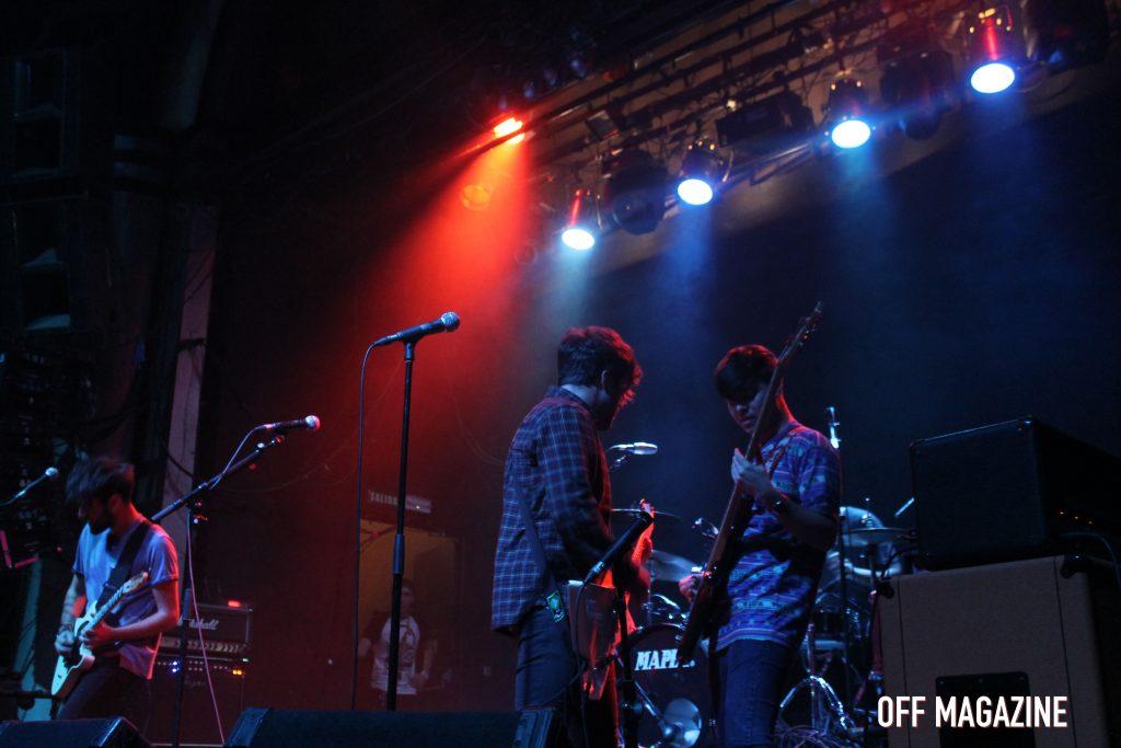 Los Killing Pete durante el concierto en la Sala Arena