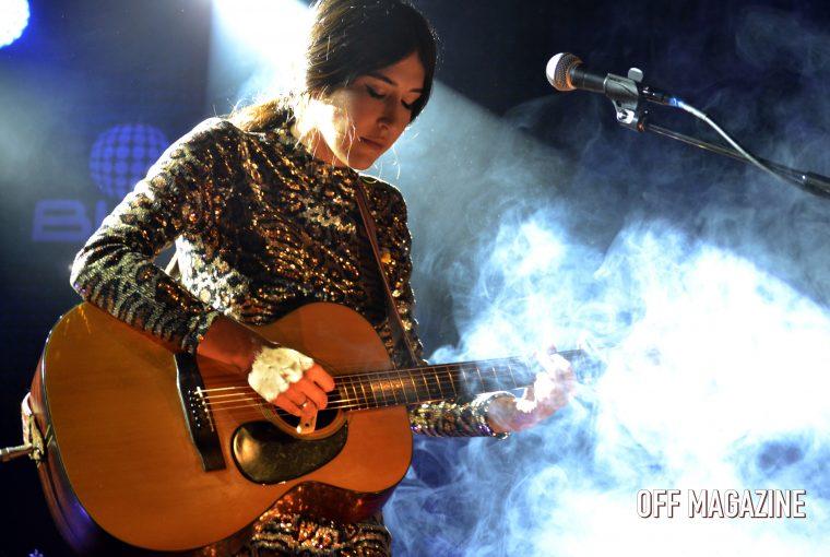 Anni B Sweet durante su concierto en Ochoymedio el pasado 3 de febrero