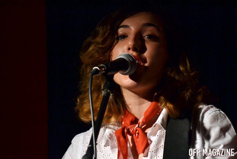 Lara Morello durante su actuación en Fulanita de Tal | Foto vía Adrián Jiménez