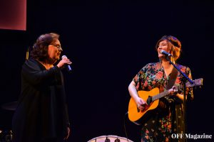 María Blanco interpreta junto a su madre Estíbaliz Uranga 'Piel' | Foto vía Adrián Jiménez