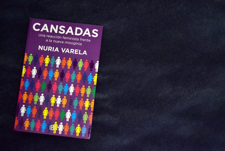 Portada de 'Cansadas', el nuevo libro de Nuria Varela   Foto vía Adrián Jiménez