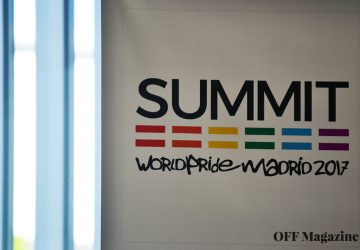 Cartel de Madrid Summit | Foto vía Adrián Jiménez