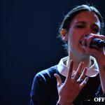 La francesa Jain durante su concierto en Joy Eslava | Foto vía Adrián Jiménez