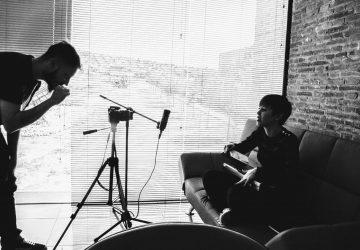 Marta Lozano grabación