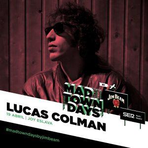 Lucas Colman llega a Joy Eslava el próximo 19 de abril